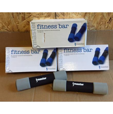 Fitness bar 2x1,5 kg UTFÖRSÄLJNING