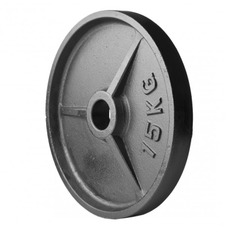 Viktskivor, gjutjärn (50 mm Ø)
